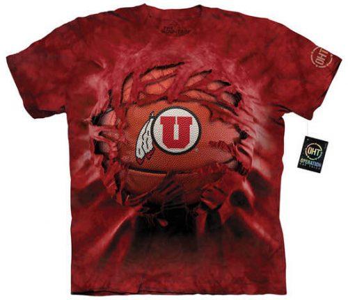 University of Utah Basketball Shirt