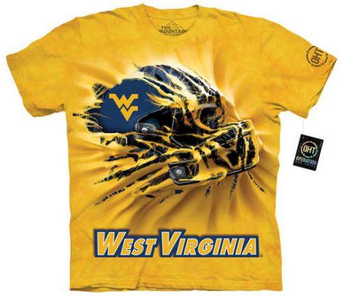 West Virginia University Football Shirt