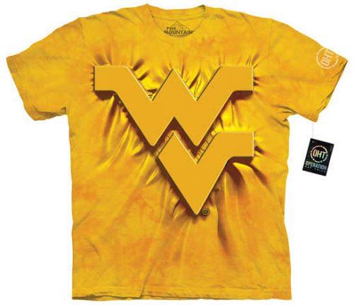 West Virginia University Yellow Shirt