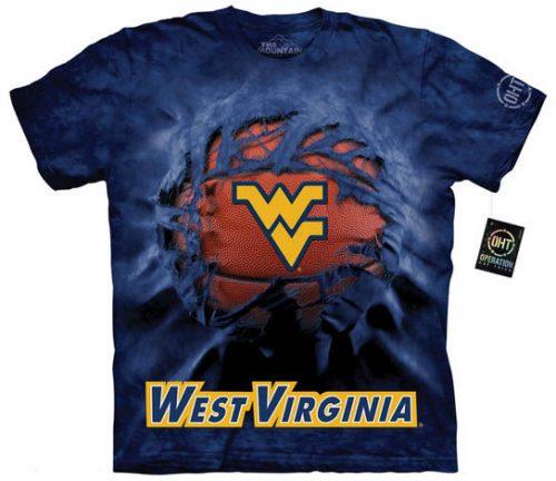 West Virginia University Basketball Shirt