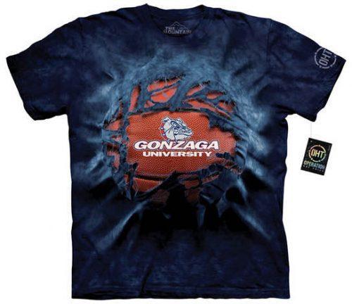 Gonzaga University Basketball Shirt