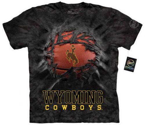 University of Wyoming Basketball Shirt