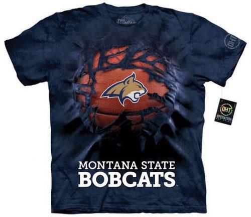 Montana State University Basketball Shirt