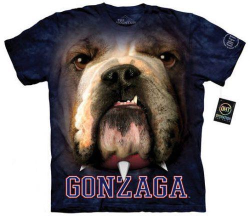 Gonzaga University Bulldog Shirt