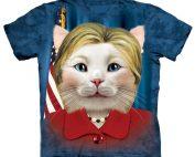 Hillary Clinton Cat Shirt