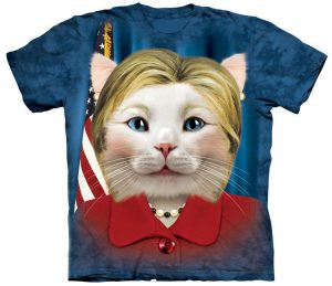 Hillary Clinton Cat Shirt