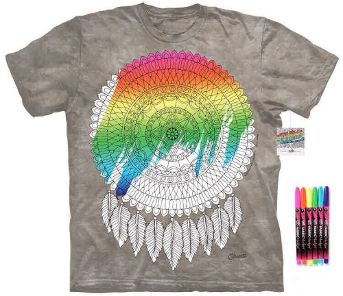 Dreamcatcher Color Marker Shirt