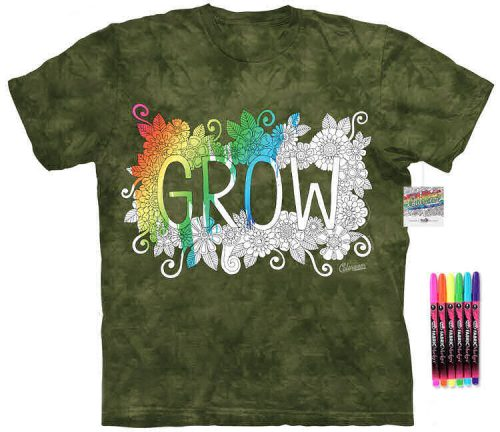 Grow Color Marker Shirt