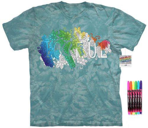 Joyful Color Marker Shirt
