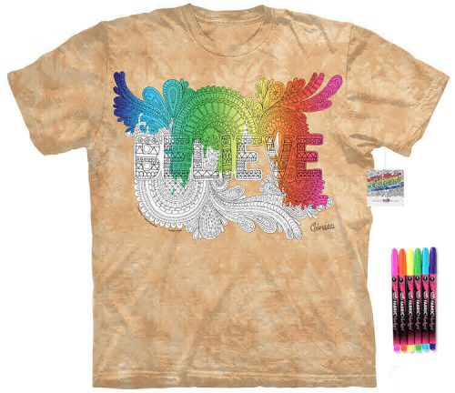 Believe Color Marker Shirt