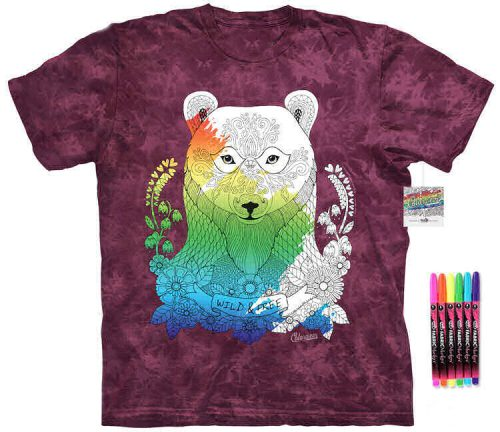 Bear Color Marker Shirt
