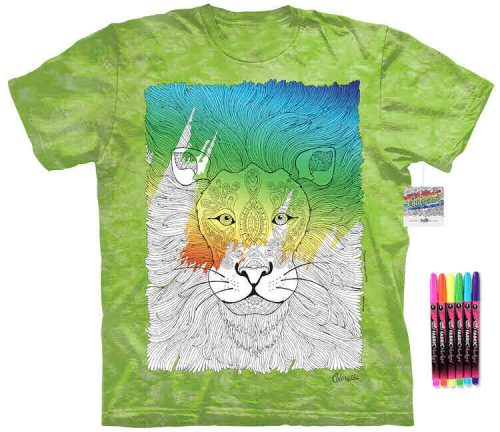Lion Color Marker Shirt