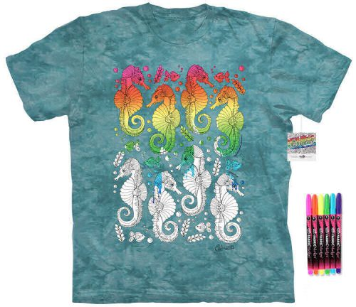 Seahorse Color Marker Shirt