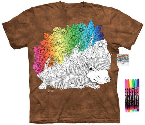 Hedgehog Color Marker Shirt