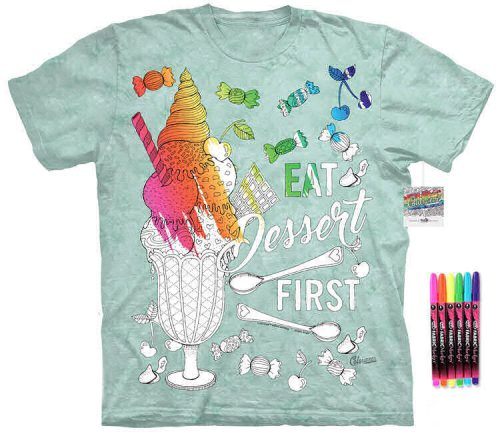 Ice Cream Color Marker Shirt