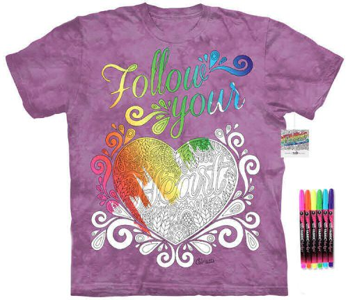 Follow Heart Color Marker Shirt