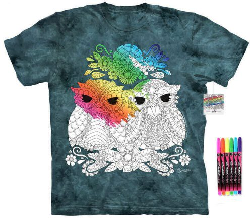 Night Owls Color Marker Shirt