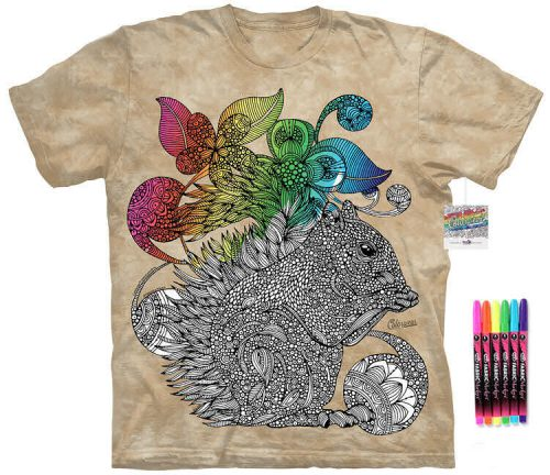 Squirrel Color Marker Shirt