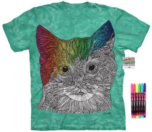 Cat Color Marker Shirt