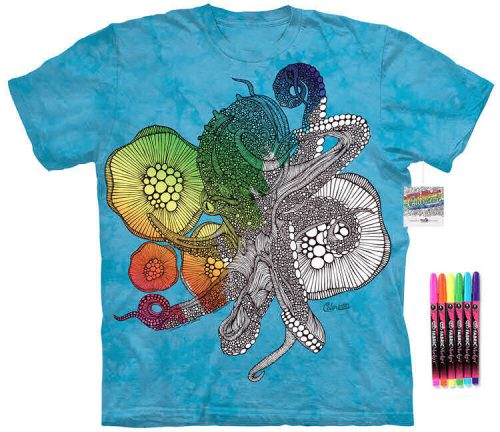 Octopus Color Marker Shirt