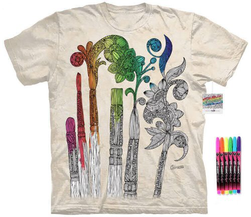 Paintbrushes Color Marker Shirt