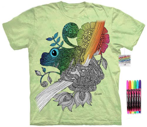 Frog Color Marker Shirt