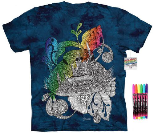 Sea Turtle Color Marker Shirt