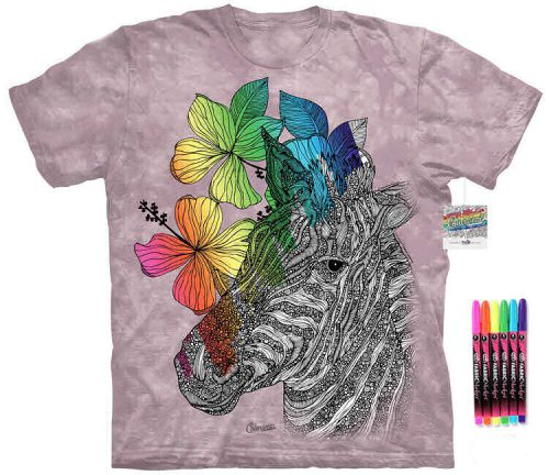 Zebra Color Marker Shirt